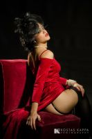 Lady in red... by KostasKappa