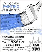 Adore Painting FLYER by fillengroovy