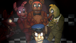 You were going to leave..? - FNAF by Sniperisawesome