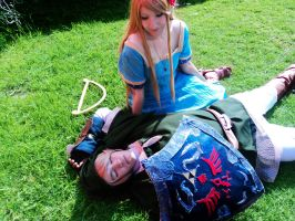 link x marin cosplay by clampguy