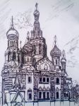 Church of the Savior on Spilled Blood. by Mizecki