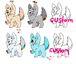 Adoptables by DragonsRforever