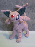 Espeon by NerdyKnitterDesigns