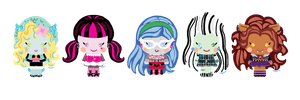 Monster High Plumpeteers by aydieva