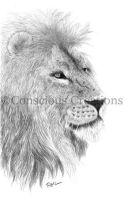 Lion by ConsciousCreations