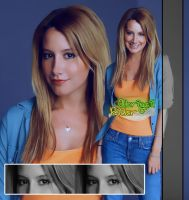 Ashley Tisdale by JustGomez
