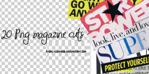 Magazine Cuts by myonlyloverob