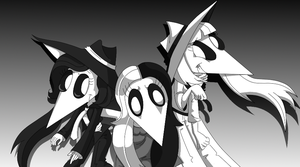 Revenge, Blade and Scissor by Soul-Strong