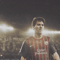 10. Messi by w6n3oshaq