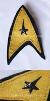 Star Trek Badge by bicyclegasoline