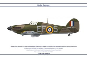 Hurricane GB 232 Sqn by WS-Clave