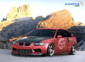 BMW M3 Sedan By Alesstyle DSGN by TheAlessandro