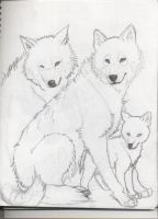 Wolf Family by TwilightWolfEpona
