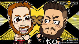 NXT TakeOver: Unstoppable Chibi Wallpaper by kapaeme