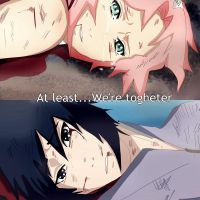 SasuSaku Final Moment by CherryDesire