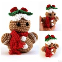 Amigurumi Gingerbread by SuniMam
