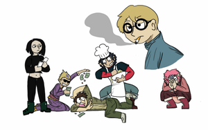 Draw the Squad (Code Lyoko) by Kracken-Of-the-Sea