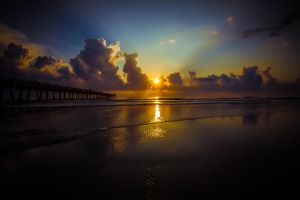 Jax. Beach Sunrise by RoyalImageryJax