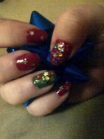 The Christmas Manicure by CarpeComma