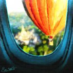I saw you from the plane ... by TheGalleryOfEve