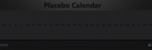Placebo Calendar  horizontal-vertical by WwGallery