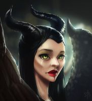 Maleficent by SneznyBars