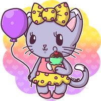 Chibi Collection - Page 17 Sweet_little_kitty___colored_by_crystal_moore-d7zr11a