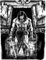 Conan: The Temple of Shaddows by wrenja73