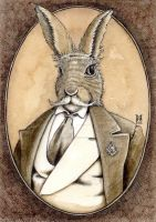 The Lodge Hare by MarkRHansen