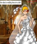 FASHION WEEK WEDDING DRESS by askromano2p
