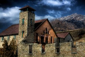 Old Mill Front - HDR by Torqie