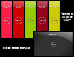 Dell Hell Desktop Pack by jeremebp