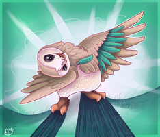 Rowlet by OneiroFrost