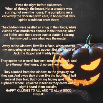 Twas The Night Before Halloween by TaylorFenner