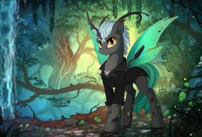 Little Changeling (Patreon reward) by Yakovlev-vad