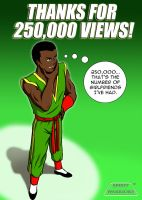 Spirit Warriors 250,000 Views by SpiritWarriors