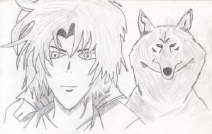 Kiba Fan Art Woooooohooooo by FFRedXIII