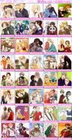Top 40 Hetalia OTPs by 67OtakuGirl24X3