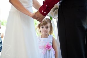 Lily at Mommy's Wedding by ZeeZedZee