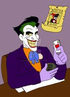 Joker: Birthday present by xero87