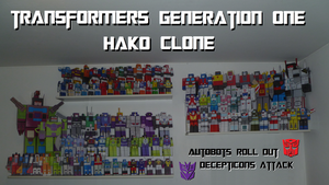 TF G1 - HAKO CLONE FAMILY by davidgrone