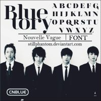 Cnblue Bluetory   Font by StillPhantom