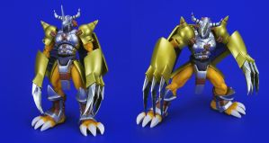 D-ARTS WarGreymon - More Proportion Modifications by Lalam24