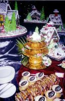 Gingerbread Buffet 2 by NctrnlBst
