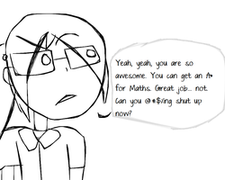 PSLE Maths Rage by souleaterartist