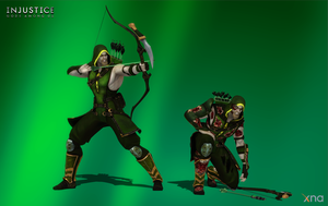 Injustice: Gods Among Us - Green Arrow Default by Sticklove