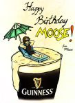 Happy birthday Moose! 2015 by snowyblackrose