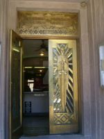 Art Deco Courthouse Doors by theannoyinge