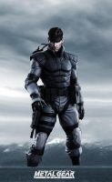 MGS1 Solid Snake by GeorgeSears1972