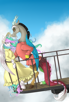 Discord's Moving Castle by Ginja-Hime